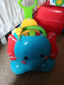 Fisher price elephant walker\bouncer