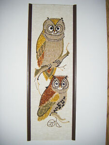 Hand crafted Owl Picture for sale