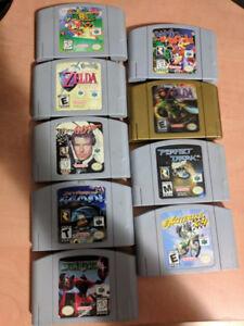 Nintendo N64 Games for sale