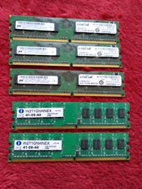 Computer ddr2 1gb ram