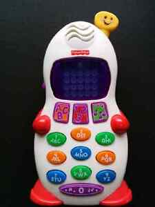 Fisher Price Laugh & Learn cell phone Peterborough Peterborough Area image 1