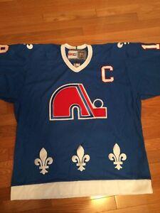 Quebec Nordiques Joe Sakic Jersey