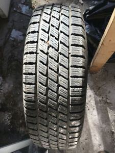 TWO WINTER TIRES 185/75/R14 USED FOR ONE SEASON AND TWO OTHERS