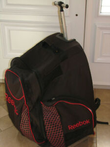 sac/poche Hockey Reebok sur roulettes