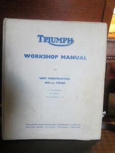 Triumph workshop manual 650 cc