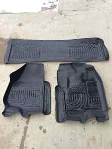 Husky Floor Liners for Ford Superduty