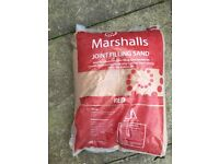Marshalls joint filling sand 25kg bag x5