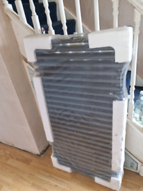 2 NEW Cast iron vintage style radiators