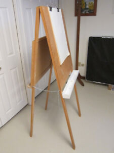 Easel - Chalk Board One Side, Paper the Other Side
