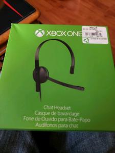 Casque Microsoft Xbox one en parfait état