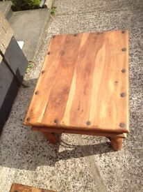 Two vintage coffee tables £25 each