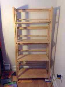 Sturdy Collapsible Bookshelf - Great Condition