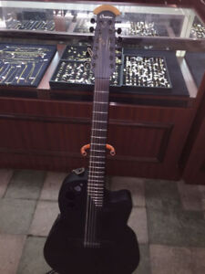 Ovation electric acoustic 12 string guitar