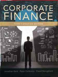 Corporate Finance, Third Canadian Edition (3rd Edition)