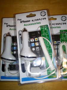 Brand New Apple 30 pin car charger