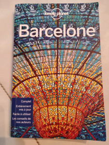 Lonely Planet voyage Barcelone