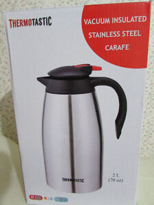 THERMOTASTIC Vacuum insulated Stainless steel Carafe