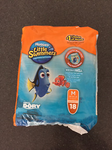 Couches pour piscine Little Swimmers Huggies paquet neuf