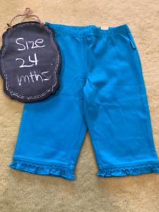 a5b860ed06e Brand New Children s Place Blue Capri cotton pants - NWT ...