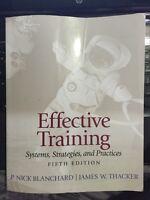 Effective training 5th edition