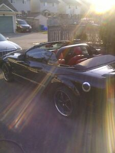 "2005 Ford GT Convertible w/ 20"" Chip Foose Tires $ 14,499"