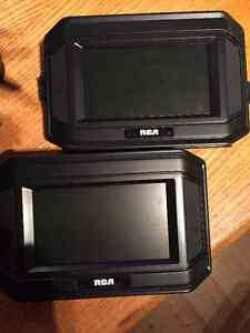 "7"" Dual Screen Mobile DVD Players (2) - RCA West Island Greater Montréal image 1"