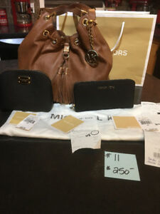handbag - michael kors with wallet and cosmetic pouch
