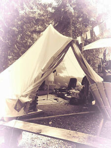 Bell Tent - Canvas -  BIG  TENT Campbell River Comox Valley Area image 1