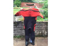 Northern diver 9mm dry suit