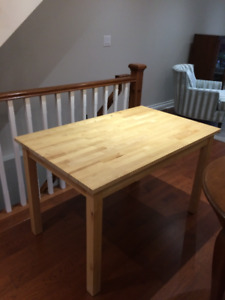 Ikea Solid Pine Table | Buy or Sell Dining Table & Sets in