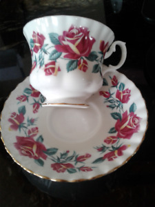 Tea Cup and Saucer A great Mothers Day Gift! Royal Albert