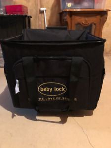 Sewing machine/Serger Rolling Dolly travel case