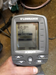 Lowrance x50 fish finder
