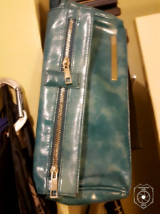 TWO TEAL PURSES