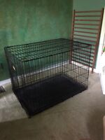 Extra large wire dog crate