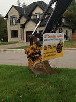 CAT Demolition & Excavating Services, Septic Licensed also