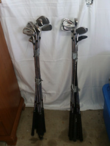 RH iron sets of golf clubs