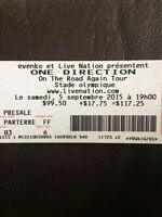 One Direction - Montreal: 1 Ticket