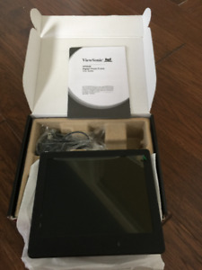 "BRAND NEW - ViewSonic 8"" Black Digital Photo Frame"