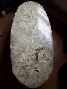 REDUCED Antique Marble Coffee Table