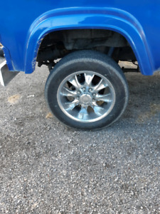 Eight Bolt tires and rims