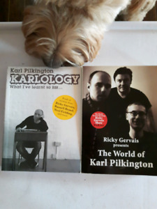 2 Karl Pilkington Books