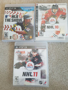 All 3 PS3 Sports Games - Price negotiable
