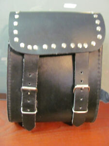 Small Leather Motorcycle Storage Bag