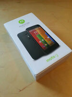MOTOROLA MOTO G 8GB (telus,koodo,public)  new in box NEW