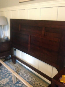 Solid Ash Queen Bed Frame