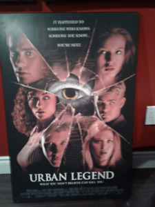 LARGE, MOUNTED MOVIE POSTER FOR SALE!!!