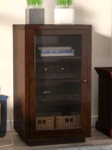 *new* stereo/components cabinet