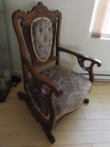 Antique Chair, Rocking