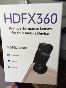 HDFX 360 High Performance Lenses for Your Mobile Device
